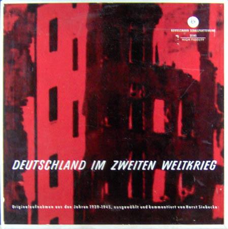 2LP - Various Artists Deutschland Im Zweiten Weltkrieg