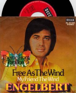 7inch - Engelbert Free As The Wind / My Friend The Wind