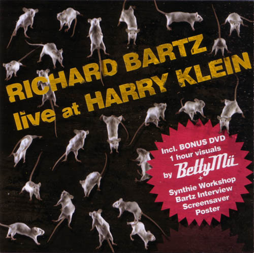 DVD - Bartz, Richard Live At Harry Klein Hybrid - DVDplus