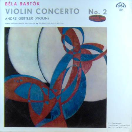 LP - Bartok, Bela Violin Concerto No. 2