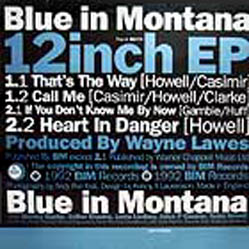 12inch - Blue In Montana That's The Way EP
