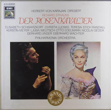 4LP - Strauss, Richard Der Rosenkavalier