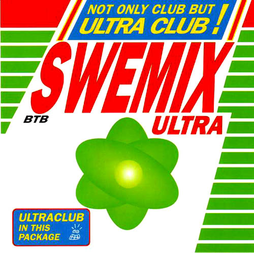 CD - Various Artists Swemix Ultra
