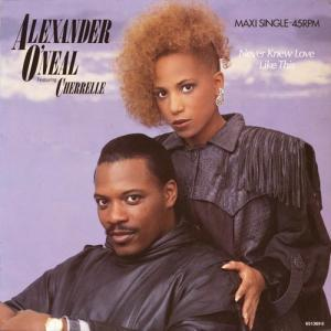 12inch - O'Neal, Alexander Featuring Cherrelle Never Knew Love Like This