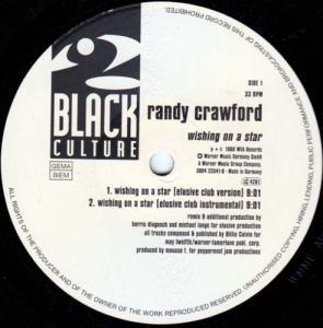 12inch - Crawford, Randy Wishing On A Star