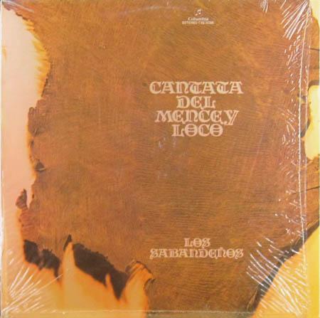 LP - Sabandenos, Los Cantata Del Mencey Loco