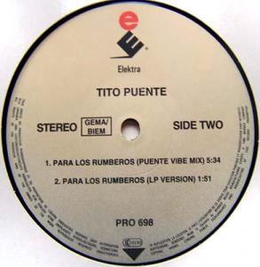 12inch - Puente, Tito Para Los Rumberos