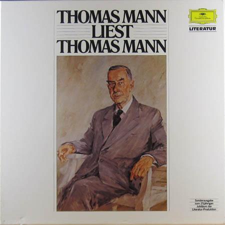 4LP - Mann, Thomas Thomas Mann Liest Thomas Mann