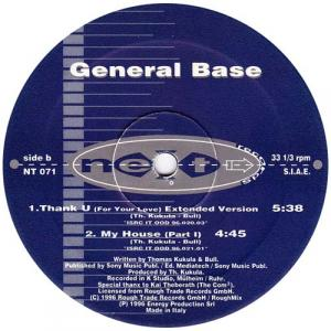 12inch - General Base Thank U - For Your Love