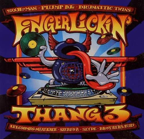 2LP - Various Artists It's A Fingerlickin' Thang 3