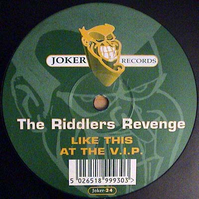 12inch - Riddlers Revenge, The Like This / At The V.I.P.