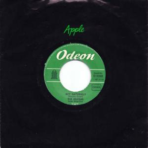 7inch - Beatles Act Naturally / Yesterday