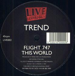 12inch - Trend Flight 747 / This World