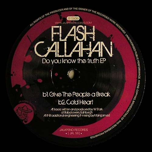 12inch - Flash Callahan Do You Know The Truth EP
