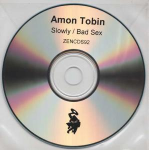 CD:Single - Tobin, Amon Slowly / Bad Sex