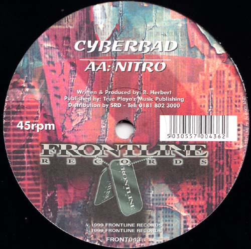 12inch - Cyberbad Prodical / Nitro