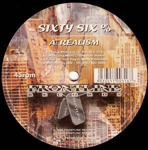 12inch - Sixty Six % Realism / Radiate