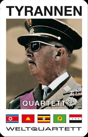 Game - Kartenspiel / Playing Cards TYRANNEN-QUARTETT I