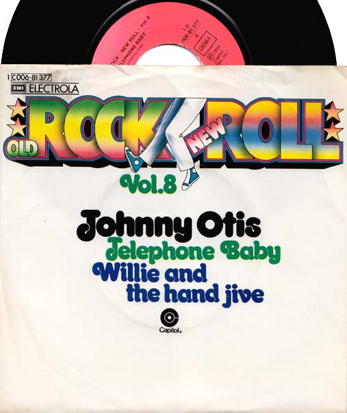 7inch - Otis, Johnny Telephone Baby