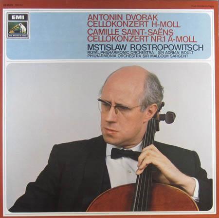 LP - Dvorak, Antonin / Camille Saint-Saens Symphonie Nr. 9 / Die Moldau