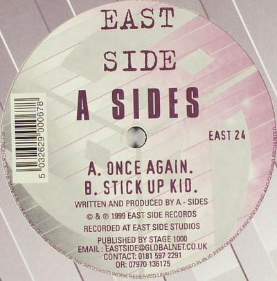 12inch - A Sides Once Again / Stick Up Kid