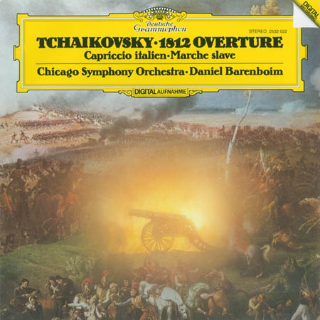 LP - Tschaikowsky, Peter 1812 Ouverture / Capriccio Italien / Marche Slave