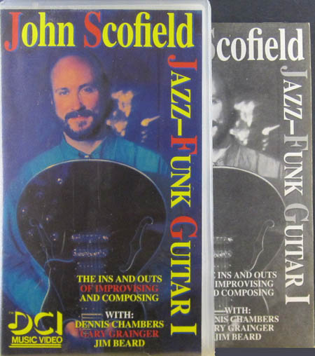 Video - Scofield, John Jazz-Funk Guitar I