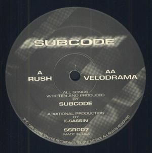 12inch - Subcode Rush / Velodrama