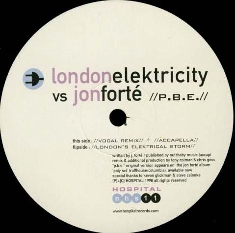 12inch - London Elektricity vs. John Forte P.B.E.