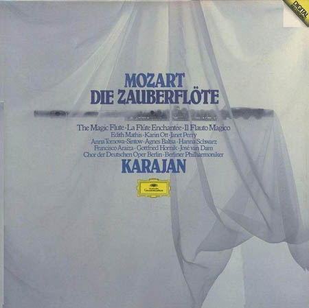 4LP - Mozart, Wolfgang Amadeus Die Zauberfl