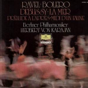 LP - Ravel, Maurice / Claude Debussy Bolero / La Mer - Prelude