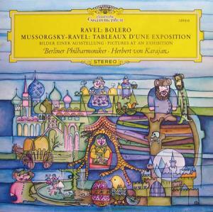 LP - Ravel, Maurice / Modest Mussorgsky Bolero / Tableaux D'une Exposition