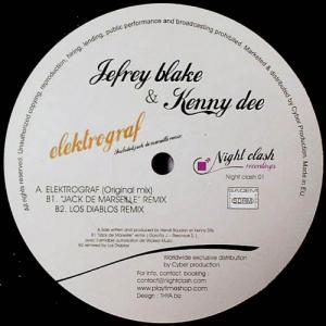 12inch - Jefrey Blake & Kenny Dee Elektrograf
