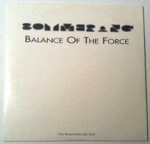 CD - Boymerang Balance Of The Force