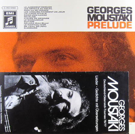 LP - Moustaki, Georges Prelude