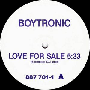 12inch - Boytronic Love For Sale