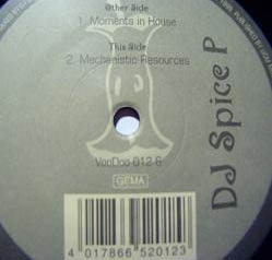 12inch - DJ Spice P Moments In House