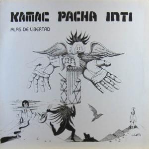 LP - Kamac Pacha Inti Alas De Libertad / Fl