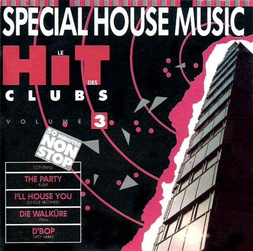 Cd various artists le hit des clubs vol 3 special for Old house music artists