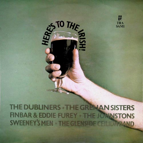 LP - Various Artists Here's To The Irish