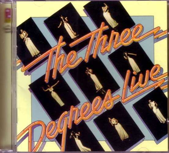 CD - Three Degrees, The The Three Degrees Live