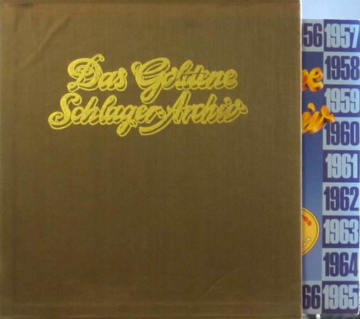30LP - Various Artists Das Goldene Schlager-Archiv 1950 - 1979