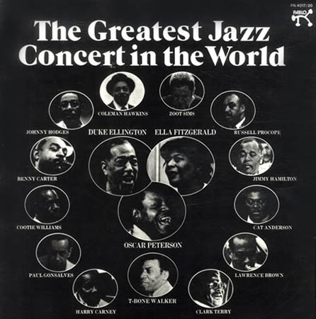 4LP - Various Artists The Greatest Jazz Concert In The World