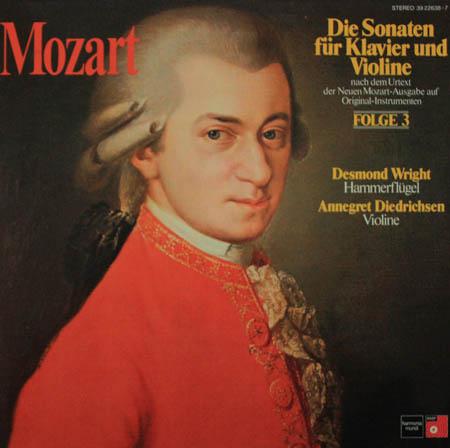 2LP - Mozart, Wolfgang Amadeus Die Sonaten F