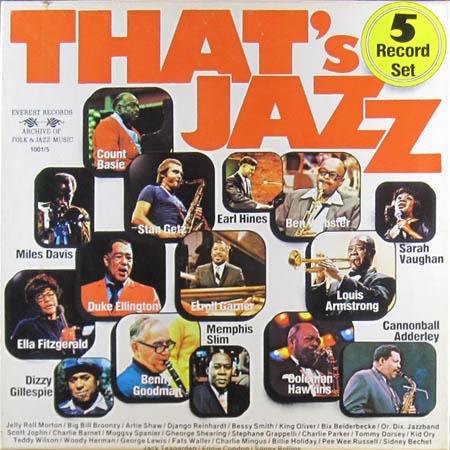 5LP - Various Artists That's Jazz