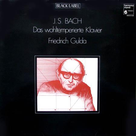 LP - Gulda, Friedrich Das Wohltemperierte Klavier