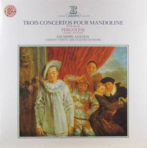 LP - Anedda, Giuseppe Trois Concertos Pour Mandoline