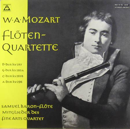 LP - Mozart, Wolfgang Amadeus Fl
