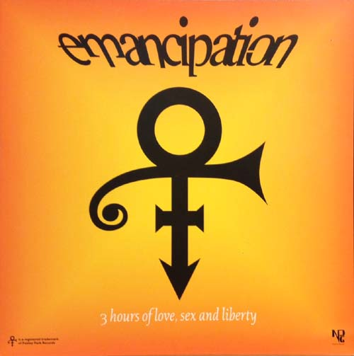 Poster - TAFKAP - The Artist Formerly Known As Prince Emancipation - Poster