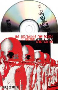 CD - Cativo The Incredible New School of German Drum & Bass Compilation
